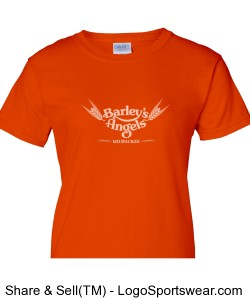 Orange T-Shirt Design Zoom